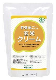 オーサワジャパン 有機絹ごし玄米クリーム 200g ×4セット