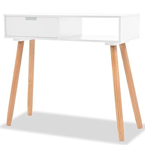vidaXL Pinienholz Massiv Konsolentisch Tisch Schreibtisch Konsole Ablagetisch