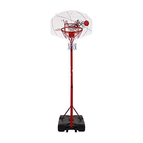 FQCD Aro de Baloncesto al Aire Libre con Soporte de Tablero de Baloncesto Cubierta Juventud móvil y de Baloncesto al Aire Libre Bastidores