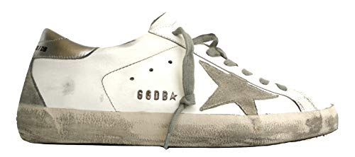 Golden Goose Luxury Fashion Uomo GCOMS590W77 Bianco Sneakers | Stagione Permanente