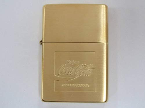 ZIPPO(ジッポー) ライター ジッポ コカ コーラ Coca Cola 1937 レプリカ ブラス Ver 1996年 製