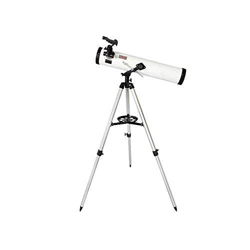 CWC Telescopio, telescopio Reflector de Newton, telescopio Refractor con el trípode Ajustable, 700 mm de Distancia Focal