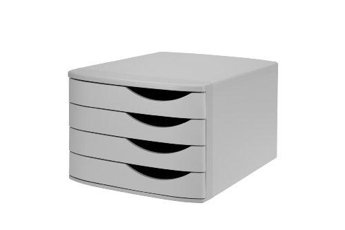 Re-Solution 2686374307 Class'box 4 grands tiroirs Gris