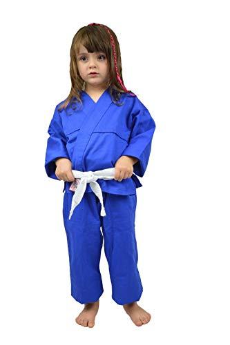 Keiko Kimono Judô/Jiu-Jitsu/Karatê Unissex, M3, Azul