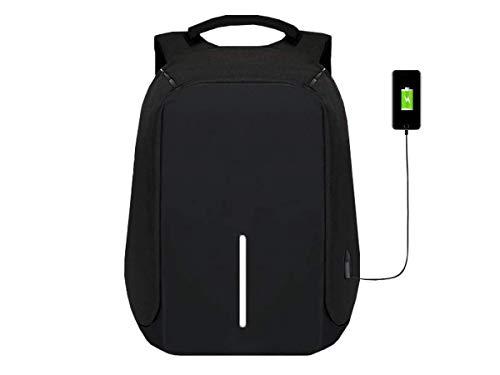 Mochila notebook Anti Furto Roubo impermeavel saida Usb tablet Laptop escolar