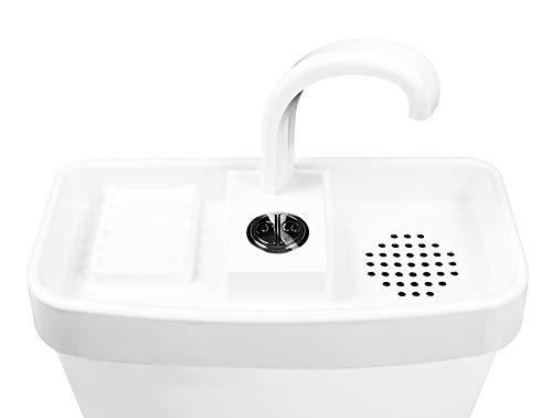 Sink Twice for Glacier Bay two piece dual flush