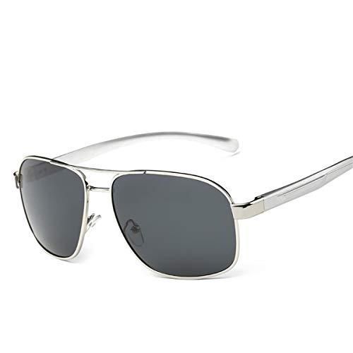 QYYtyj - Gafas de sol para hombre, lentes de sol de magnesio de aluminio