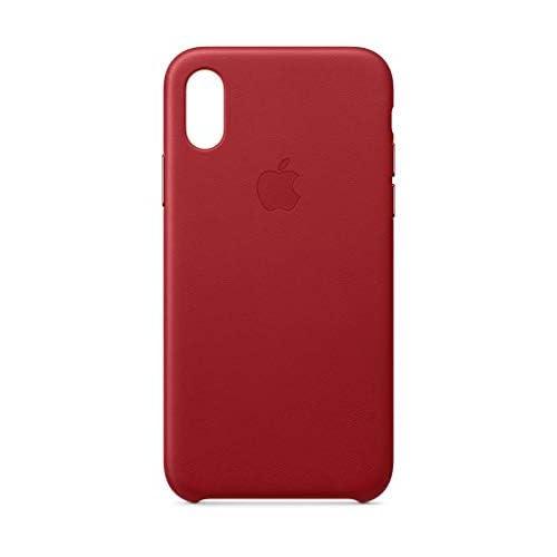 Apple Custodia in pelle (per iPhoneXS) - (PRODUCT)RED