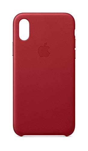 Apple Leder Case (Iphone Xs) - (Product)Red