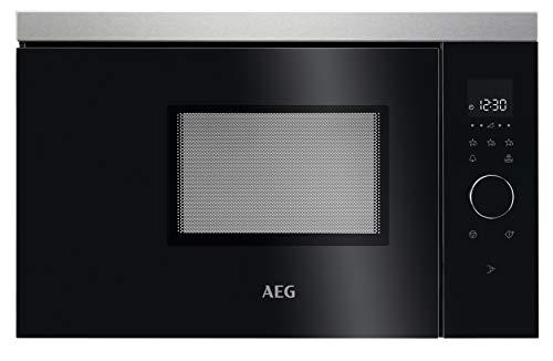 AEG MBB1756SEM Integrado Solo - Microondas (Integrado, Solo microondas, 17 L, 800 W, Tocar, Negro, Acero inoxidable)
