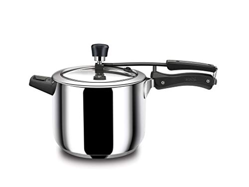 Stahl Stainless Steel Pressure Cooker Inner Lid Broad, 9013, 3-Liter, 1-Piece, Silver