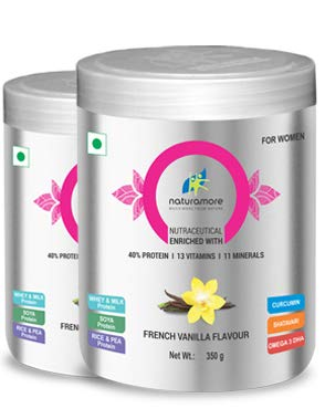 NATURAMORE HERBAL HEALTH SUPPLEMENT FOR WOMEN FRENCH VANILLA FLAVOUR PACK 1