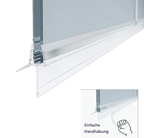 Duschkabinen, Duschdichtung Ersatzdichtung, wasserdichteAbdeckkapsel, Überlaufsicherung, für 6 mm,duschandDichtung 100 cm