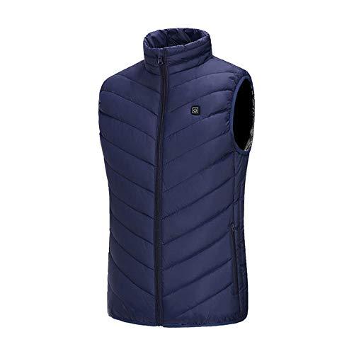 Chaleco calefactable para Mujer, Chaleco Calefactor eléctrico Slim Fit,Men Women Outdoor Jacket,Heated...
