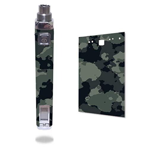 Decal Sticker Skin WRAP Black Green Dark Green Jungle Woods Camo Camouflage for Innokin iTaste VV V3.0