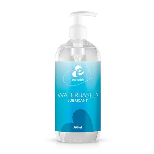EasyGlide Gleitgel auf Wasserbasis (500 ml) Sicheres Gleitgel für Latexkondome und Silikonspielzeug