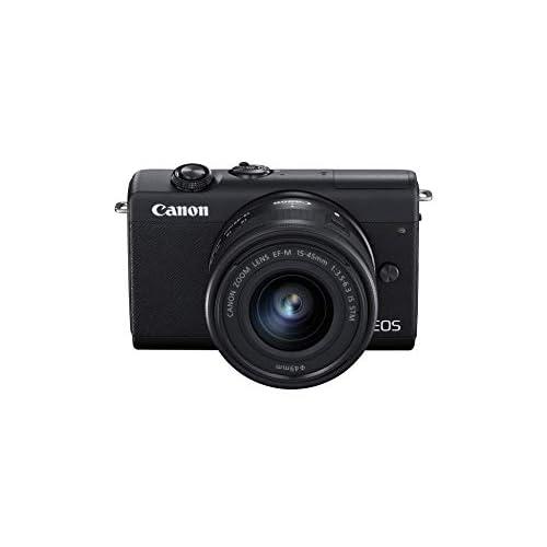 Canon EOS M200 Kit Nero + EF-M 15-45 IS STM