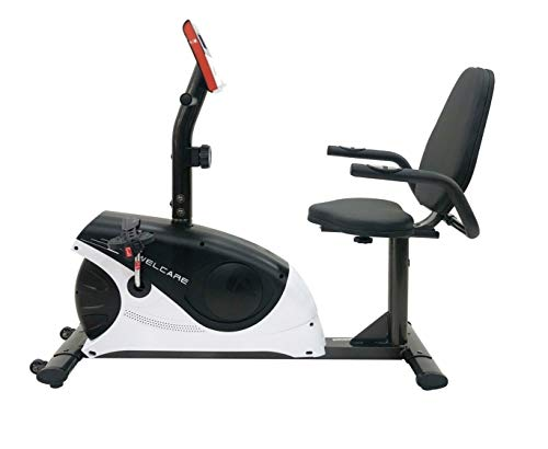 Welcare WC1544 Recumbent Exercise Bike with Pulse Monitor and LCD Display DIY Installation with Video Call Assistance
