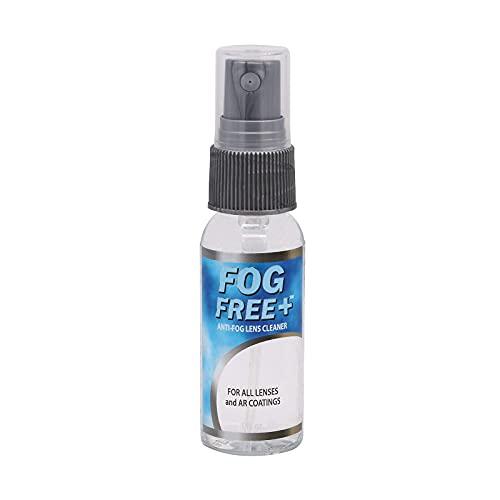 Fog Free Plus Anti-Fog Spray for Glasses - Lens Cleaner and Defogger - Effective on All Lenses and Anti-Reflective Coatings - Prevents Fog on Eyeglasses, Sunglasses, AR Coatings - 1 oz. (29.5 mL)