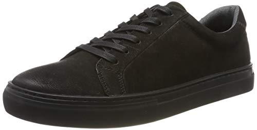 Vagabond Herren Paul Sneaker, Schwarz (Black/Black 92), 44 EU
