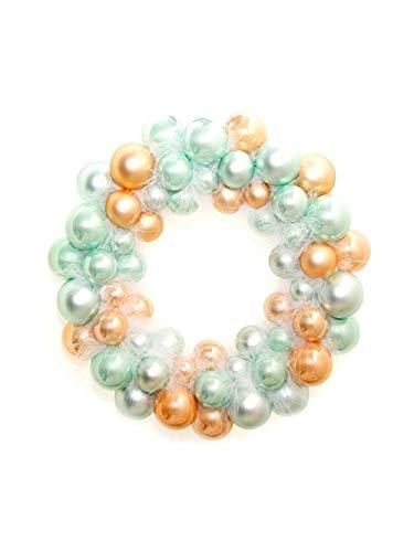 ARTFFEL 55 bolas de Navidad para decorar la corona de Navidad, anillo de bádminton, año nuevo, decoración del árbol de Navidad (color: A)