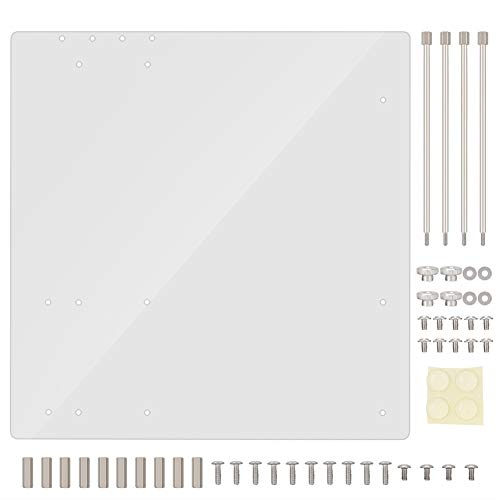 Bewinner Acrylic Frame for M-ATX Motherboard Open Frame...