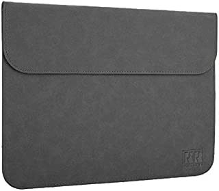 MacBook Air 13.3インチ(2018/2019/2020)ケース/カバー マックブックエアー ケース/カバー 高級PU レザー おしゃれ サーフ バッグ型 レザーカバー オシャレなスリーブ型ケース/カバー(カーキ)