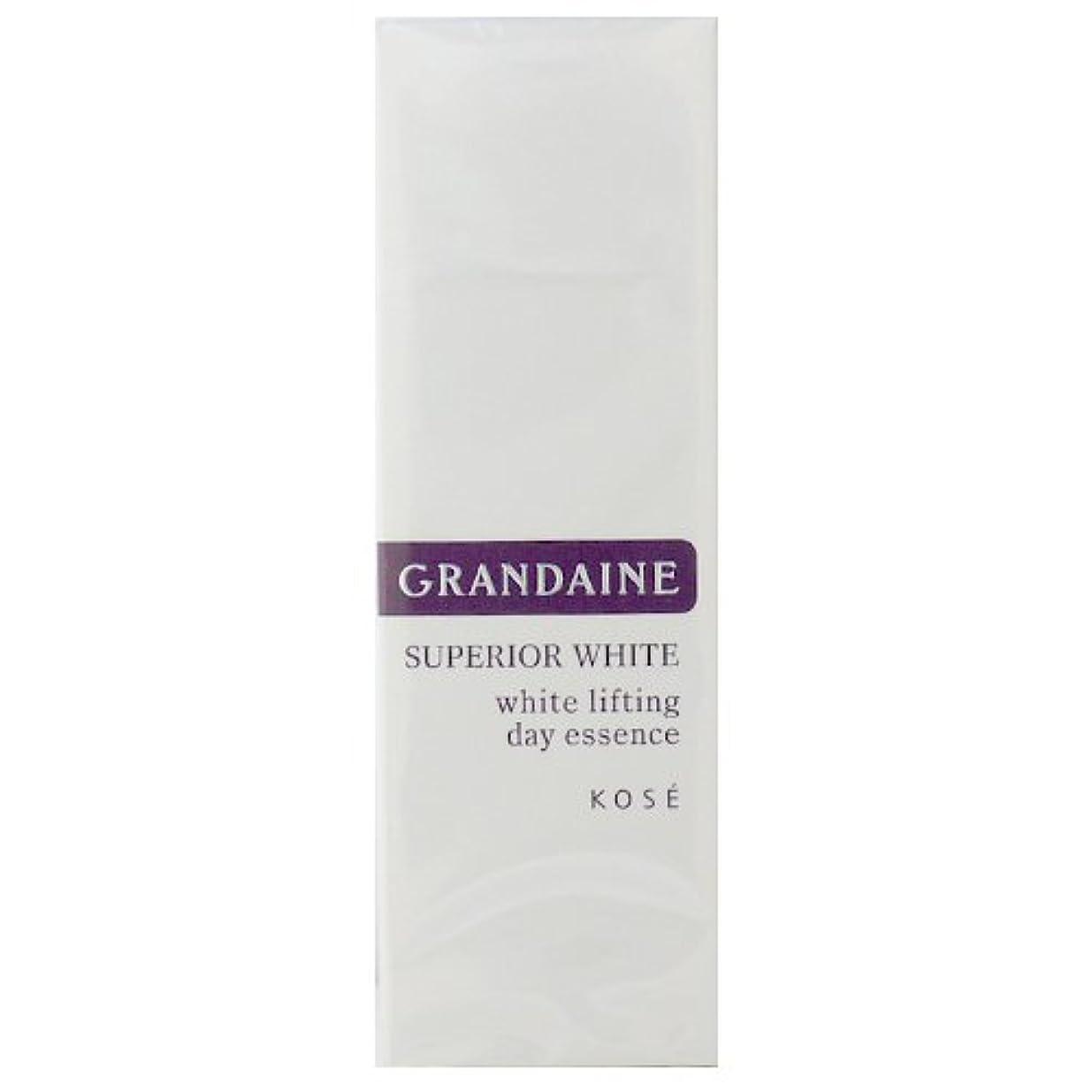 授業料一過性気取らないコーセー グランデーヌ スーペリア ホワイト ホワイトリフティング デイエッセンス SPF30 PA++ 30g