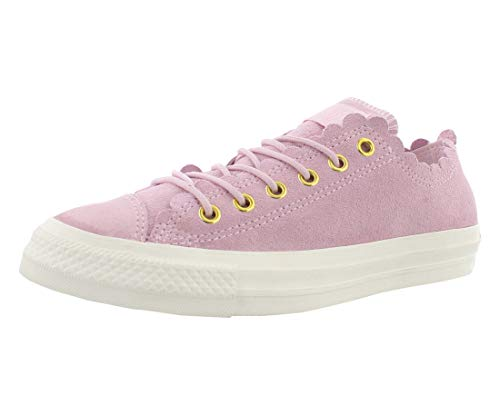 Converse Chuck Taylor All Star (Frilly Thrills), Pink Foam / Gold-egret, 10