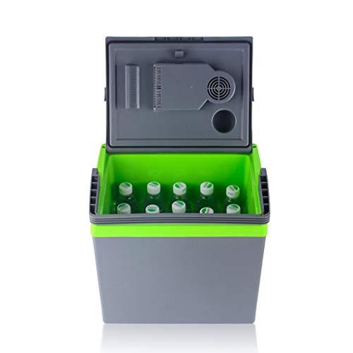 SHKUU Refrigerador de Coche de Gran Capacidad de 25L, Mini refrigerador Doble, Caja de refrigeración, refrigeración y calefacción