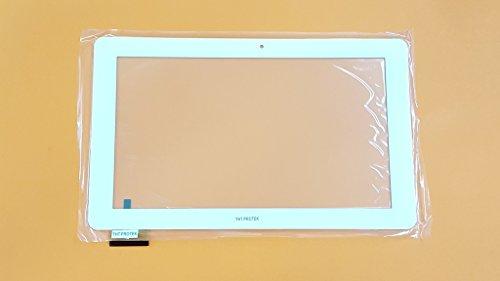Weiss Touchscreen Digitizer glas komp. Mit Odys ieos quad 10 Pro 10