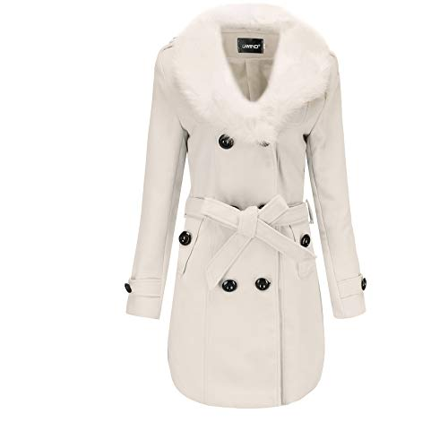 x8jdieu3 Top Coat Windbreaker Coat Damen Mittellange Damen Winterkleidung...