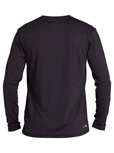 Quiksilver Men's Solid Streak Ls Long Sleeve Rashguard Surf Shirt