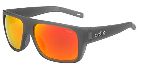 bollé Falco Gafas de Sol, Adultos Unisex, Matte Crystal Grey, Large