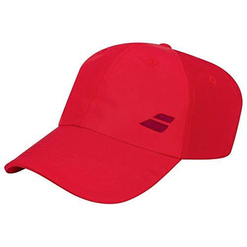 Babolat Basic Logo Cap Junior Gorra, Unisex niños, Tomato Red, Talla Única