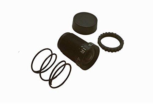 AXION 4,35 mm Rectilineares M12-Objektiv für GoPro Kameras Hero3, Hero3+ und Hero4, kein Fischaugen/Verzerrung