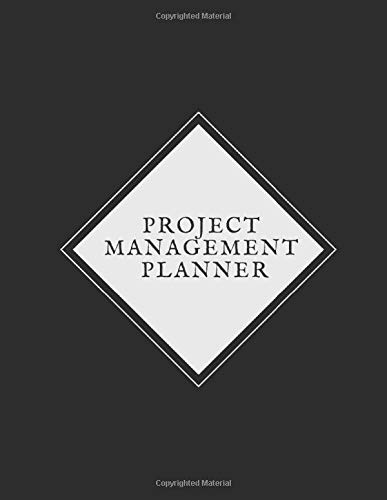 Project Management Planner: Project Manager Planner  | Productivity  Planner for Project Manager |A Guide to Measure Project Task  & Monitor  Project ... in Organization| Project Planner Tracker