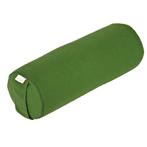 Yoga Mini Bolster/Nackenrolle Basic, Olive