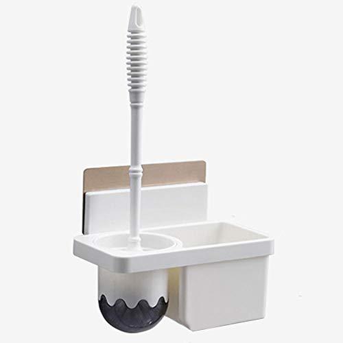 ZYJ wc-borstel aan de muur compact zonder ponsen kan worden geplaatst met wasmiddel lange borstel en zwaar genoeg badkamertoilet