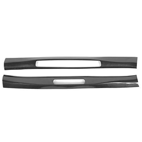 Carbon Fiber Sill Plate, Convenient Disassemble Carbon Fiber Sill Trim, Professional for 911 2019‑2020 Car Parts Car Interior Protection Car