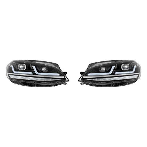 Osram LEDriving LED Scheinwerfer für VW Golf 7.5, Golf VII Facelift, Black Edition, Halogenersatz