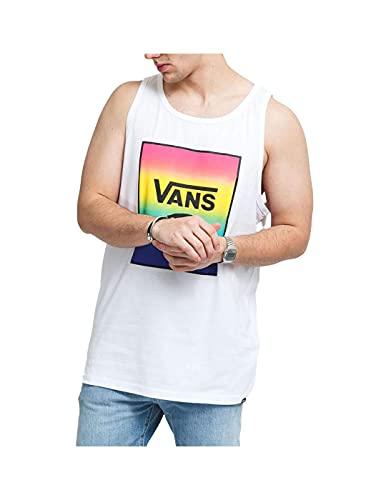 Vans Camiseta Print Box Tank White/Spectrum Tie Dy Blanco L