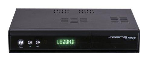 SOGNO HD 8800 Twin Full HD Linux Twin Satelliten Receiver 2x DVB-S/S2 Tuner mit Festplatten Wechselrahmen, HbbTV, Webradio, IPTV, Wechseltuner und mehr
