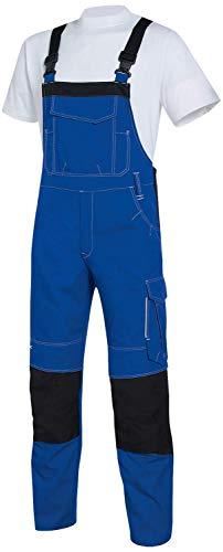 Uvex New Worker 3644 Herren-Arbeitshose - Blaue Männer-Latzhose 48/50