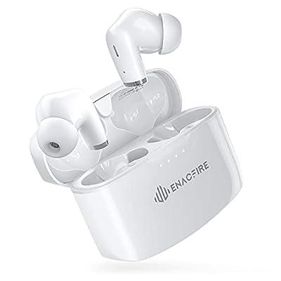 ENACFIRE Wireless Headphones, E90 Wireless Earbuds Headphones with Deep Bass, Built-in Dual-Mic Stereo Wireless earphones, 48H Playtime Bluetooth Headphones In Ear, IPX8 Waterproof for Sports, Workout from Enacfire