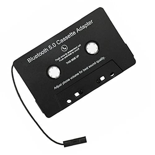 Sanfiyya Accesorios Cinta Adaptador inalámbrico Bluetooth Car Audio Cassette Adaptador de Coche MP3 de Audio Digital analógico para el Coche Negro protección del teléfono