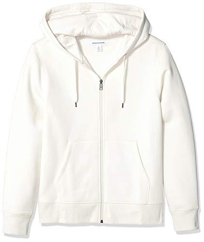 Amazon Essentials - Sudadera con capucha - para mujer marrón gris M