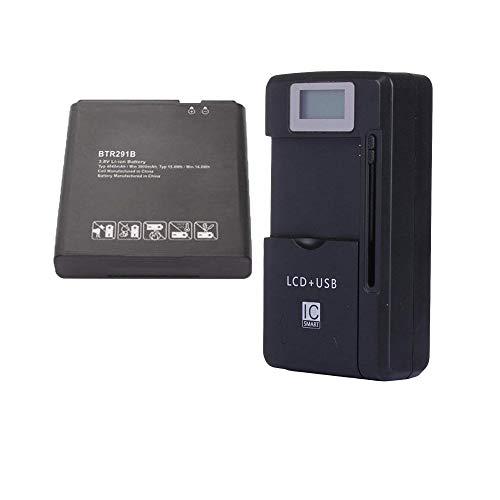 Chaya Replacement Battery BTR291B 4040mAh 3.8V for Pantech Verizon Jetpack 4G LTE Mobile Hotspot MHS291L, Hotspot MHS291LVW, 291LVW-7046 with External Battery Charger