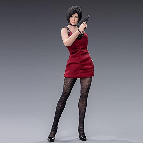 LJIS 1/12 Figura De Acción Resident Evil Material De PVC Ecológico Ada Wong Estatuas De Juguete Aptos para Niños Y Adultos