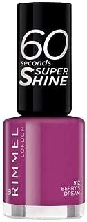 Rimmel 60 Seconds Super-Shine Nail Polish (912 Berry's Dream)